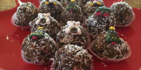 Gingerbread Cookie Christmas Bites