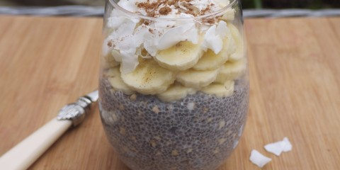 Energising Vanilla Chia and Buckwheat Pudding
