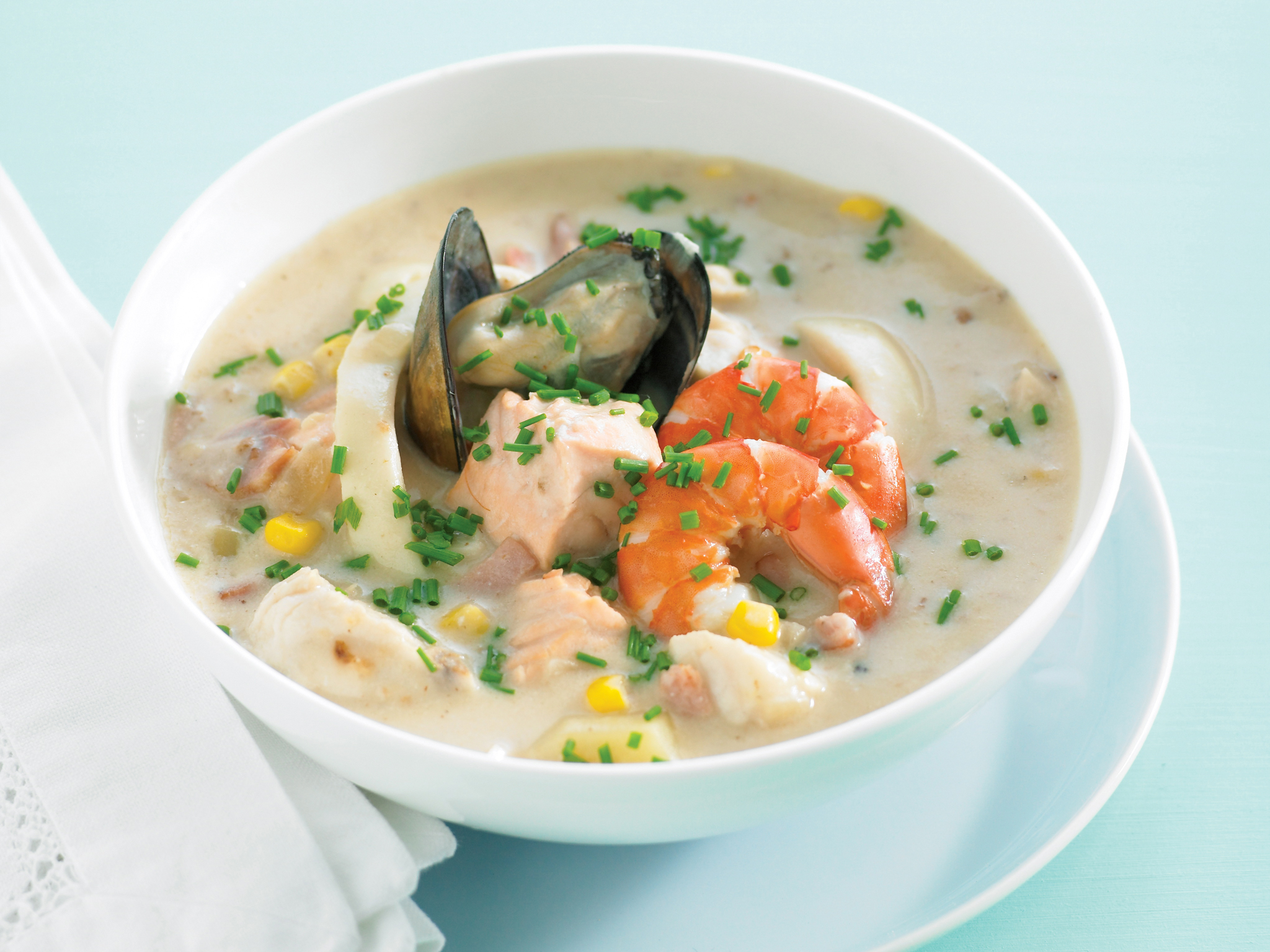 Budget Special Seafood - Family Favourites - Seafood Chowder